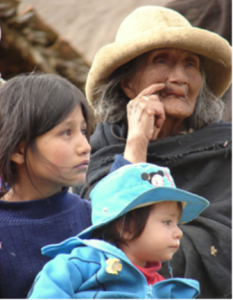 Generations helped by LED, Peru