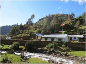 "The ""Val Pitkethly"" school in Quishuar, Peru"