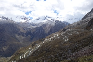The road up the Llanganuco pass, 18.6 15