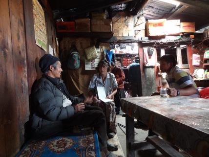 LED solar light distribution, Bhulbule – LED Solu Khumbu Trek, April/May 2016