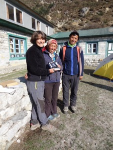 LED solar light distribution, Thame - LED Solu Khumbu Trek, April/May 2016