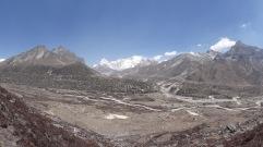 LED solar light distribution, checks and repairs, Bhote Kosi valley - LED Solu Khumbu Trek, April/May 2016
