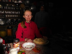 Solukhumbu Trek April/May 2016 - Birthday cake for Mary