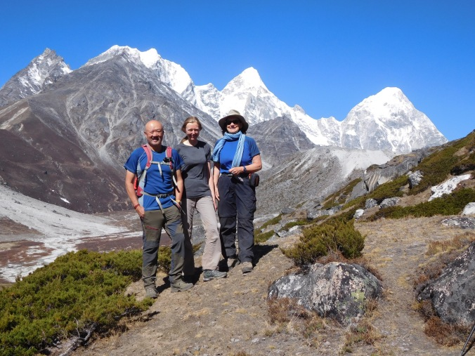 Solukhumbu Trek April/May 2016 - Charles, Mary and Steffi