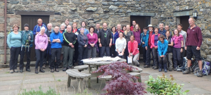 LED's Blencathra Fundraising Weekend 2019